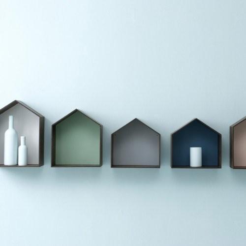 Ferm Living Studio 4 - Grey Wandregal Regal Haus Regal Grau
