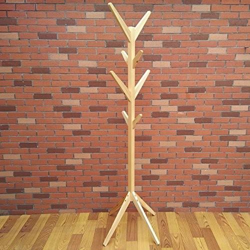 ZWL Einzelne Zweige Kreative Massivholz Kleiderständer Lobby Schlafzimmer Boden Wirtschaft Kinder Zweige Ecke Hänge Kleidung Rack Fashion.z ( Farbe : A )