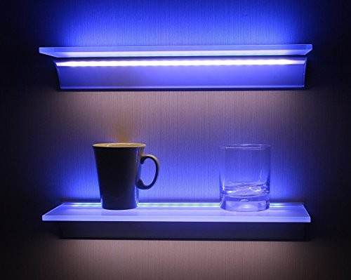 wandregale beleuchtete wandregale online kaufen. Black Bedroom Furniture Sets. Home Design Ideas