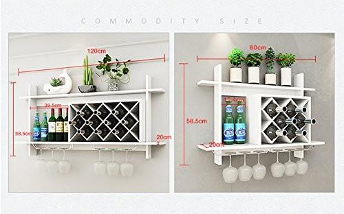 wandregale f r weinflaschen. Black Bedroom Furniture Sets. Home Design Ideas