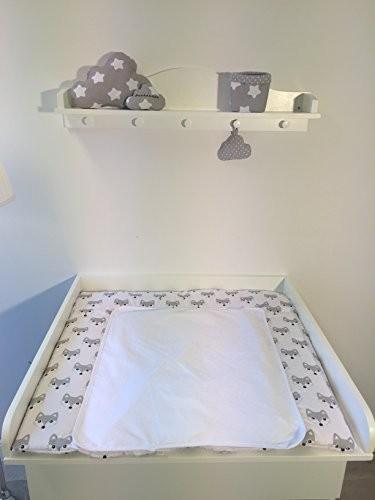 Puckdaddy Wandregal, Regal Wolke (passend zum Puckdaddy Wickelaufsatz für IKEA Kommoden)