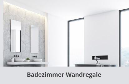 Badezimmer Wandregal