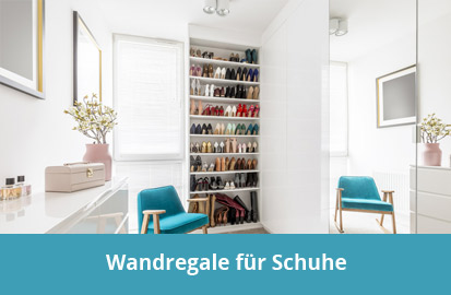 Schuh Wandregal